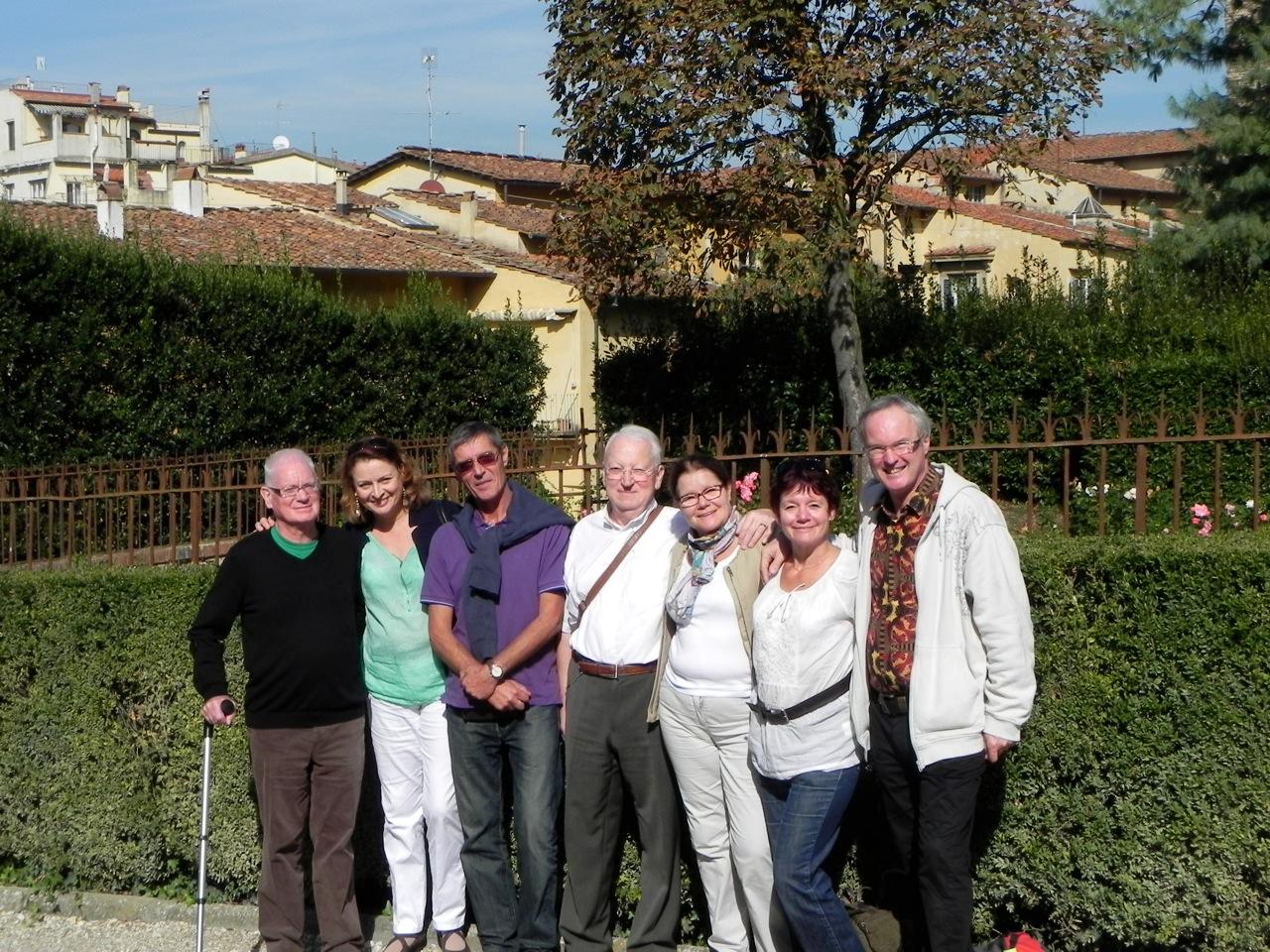 Jean-marc et tout le groupe d'amis