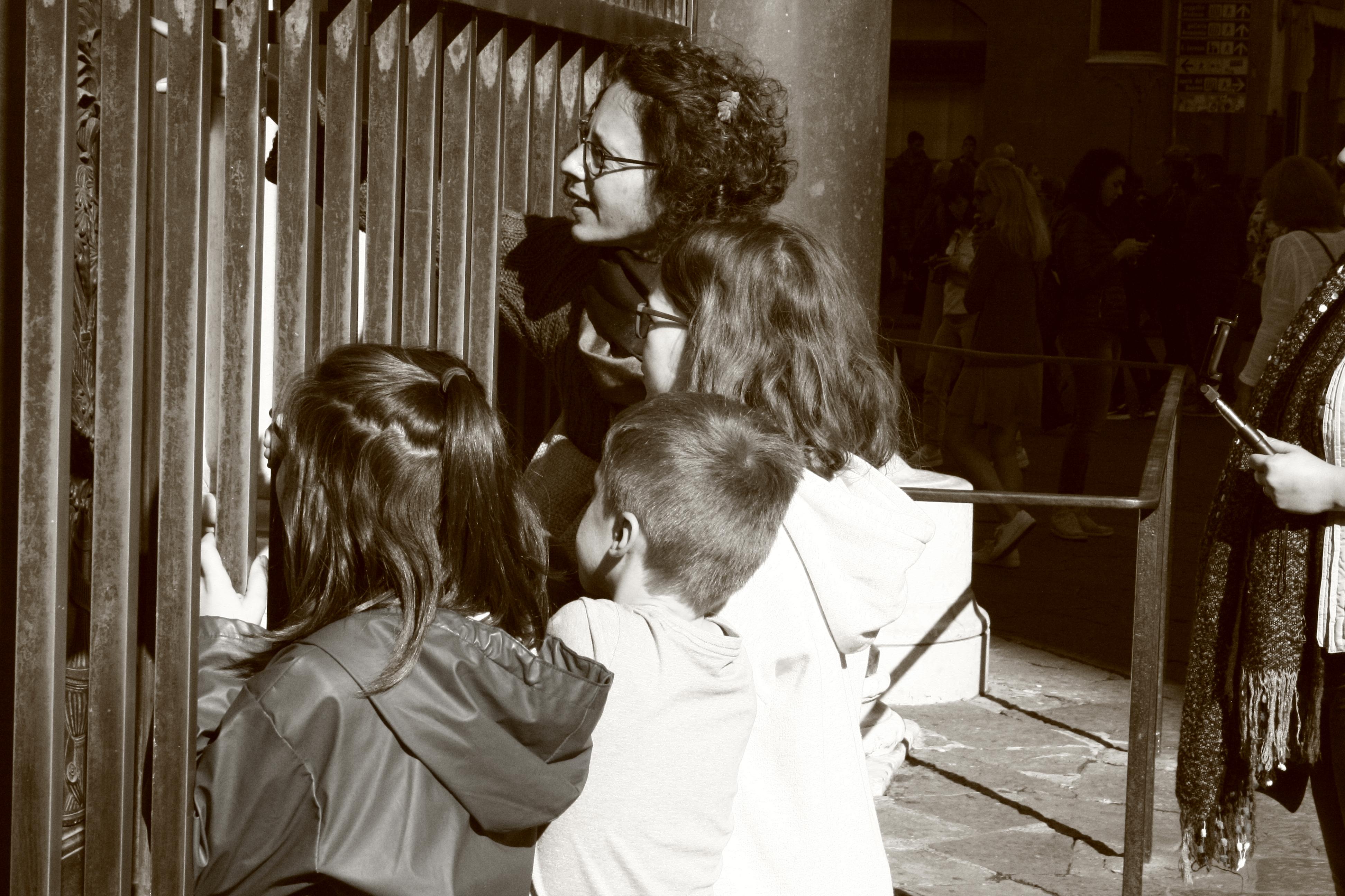 Claire et sa famille
